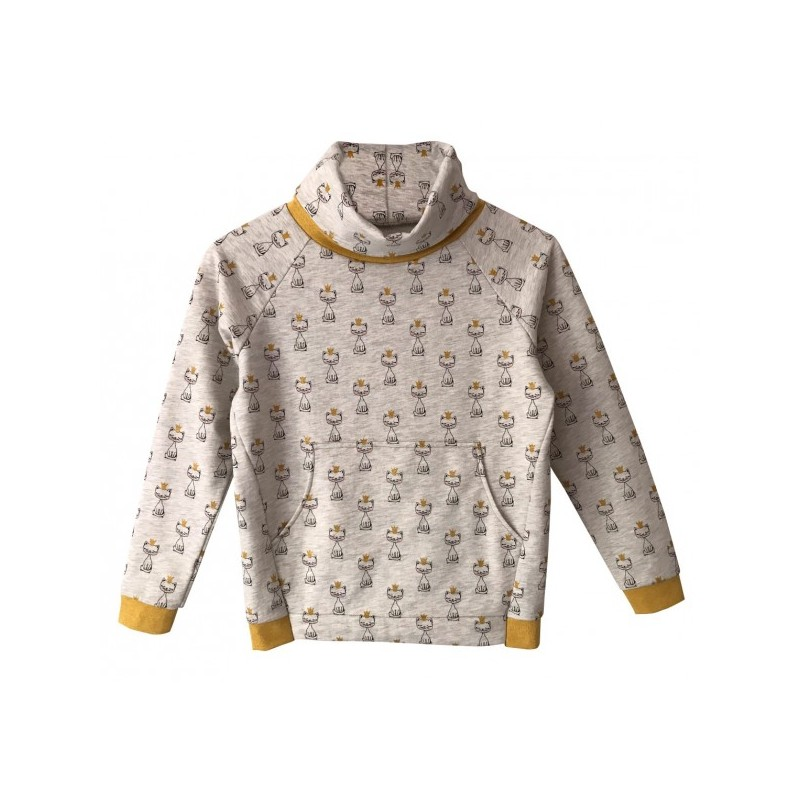 Sweatshirt Jamie - Madame Maman sewing pattern