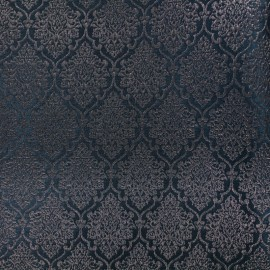 Jacquard fabric ornaments - black and copper x 10cm