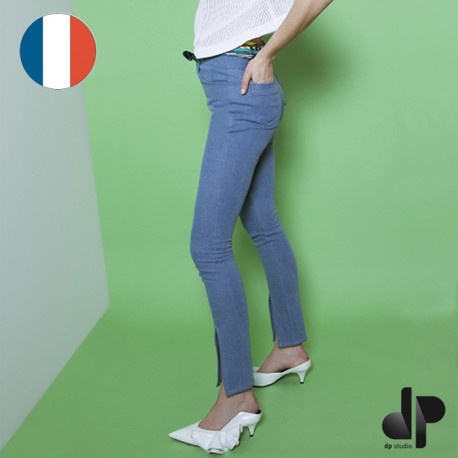 Sewing pattern DP Studio close-fit jeans with 5 pockets - Le 306