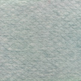 Quilted jersey fabric Diamonds 10/20 - aqua light grey x 10cm