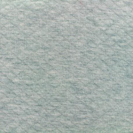 Quilted jersey fabric Diamonds 10/20 - aqua light grey x 10cm