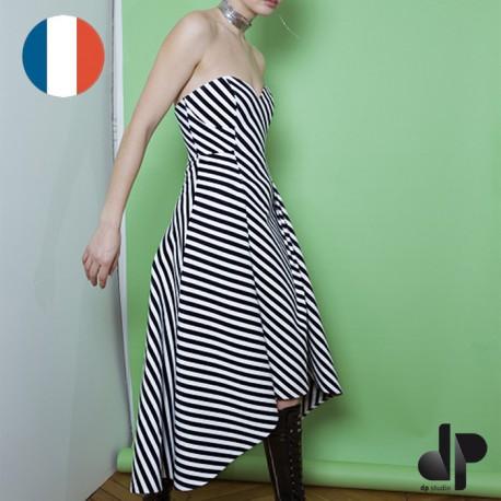 Sewing pattern DP Studio Loose-fit dress/shirt - Le 606