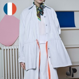 Patron Femme DP Studio Parka/tunique manches effet raglan, ceinturée - Le 701