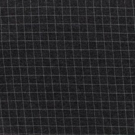 Milano jersey fabric - grey x 10cm