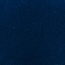 Tissu drap de laine bleu marine x 10cm