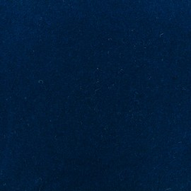 Wool broadcloth fabric - blue navy x 10cm
