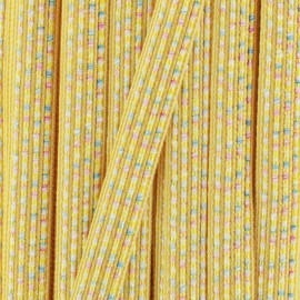 10 mm iridescent ribbon Anna  - blue x 1m