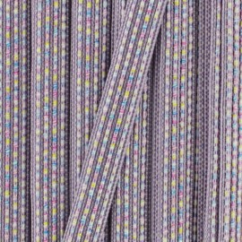 10 mm iridescent ribbon Anna  - yellow x 1m