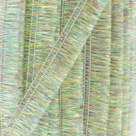Galon à franges irisé Fête - multi x 1m