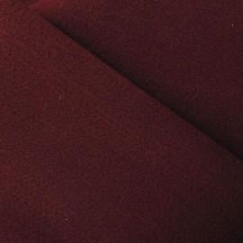 Tissu Feutrine bordeaux x 10cm