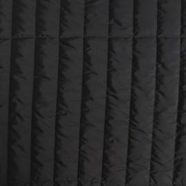 Tissu matelassé nylon doudoune - marine x 10cm