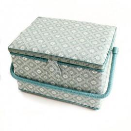 Boîte à couture Indie Taille L - bleu