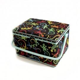 Boîte à couture Gekko Taille L - noir