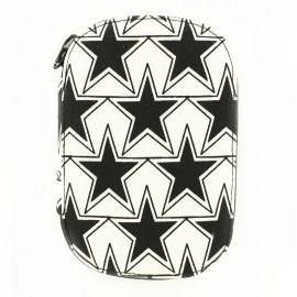 Nécessaire de couture étoiles - noir et blanc