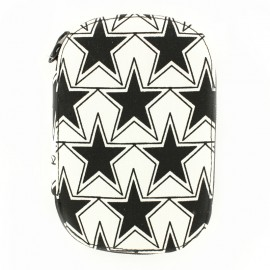 Sewing kit  stars - black and white