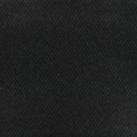 Tissu Lainage losange - gris x 10cm