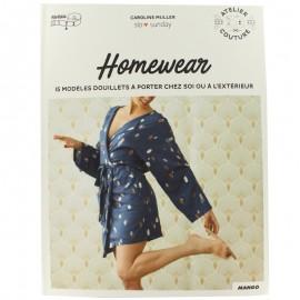 """Livre """"Homewear 15 modèles douillets à porter chez soi ou à l'extérieur"""""""