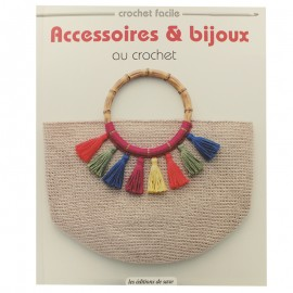 """Livre """"Accessoires & bijoux au crochet"""""""