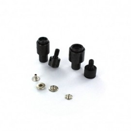 Classic press fastener die set - 12 mm