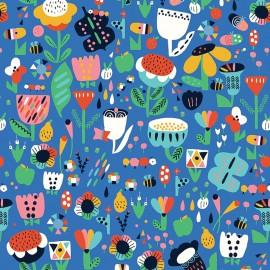 Tissu coton Dashwood Eden Pop - fête des mères x 10cm