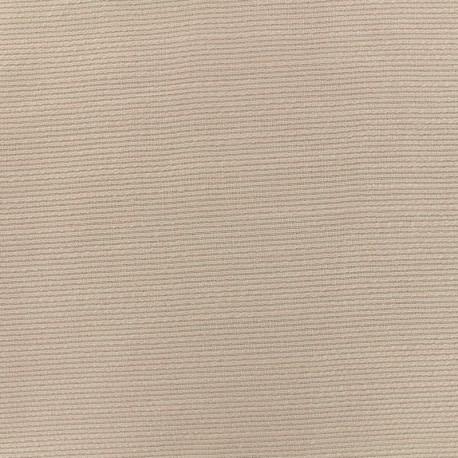 Tissu poly lin Maryland spécial rideaux - rose poudré x 10cm