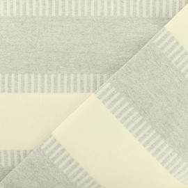 Poly cotton Fabric special curtains - grey x 30cm