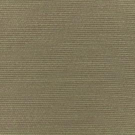 Tissu poly lin Maryland spécial rideaux - chocolat x 10cm