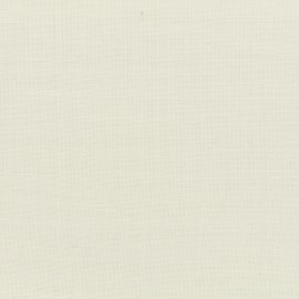 Art Lino Poly linen Fabric special curtains - white x 10cm