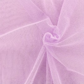 Luxury Sequined Tulle - lilac x 10cm