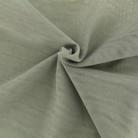 Tissu tulle pailleté Princesse - orage x10cm