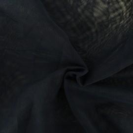 Tissu tulle doux Princesse - bleu de minuit x10cm