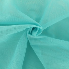 Luxury soft touch Tulle - blue aqua x 10cm