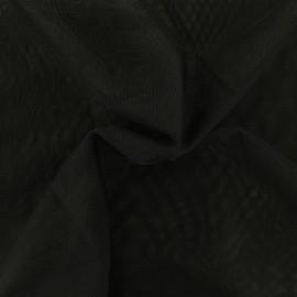 Tissu tulle doux Princesse - noir x10cm