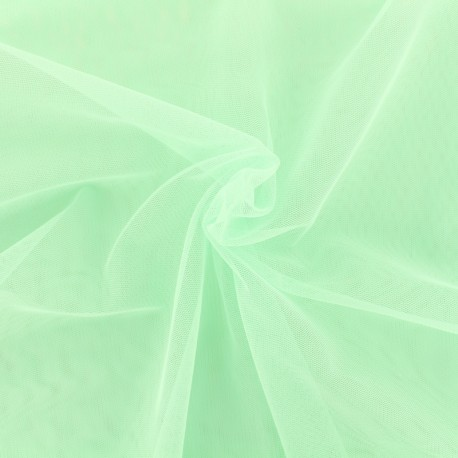 Luxury soft touch Tulle - mint x 10cm