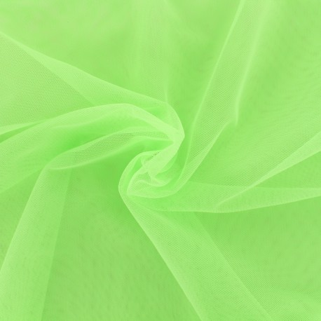 Luxury soft touch Tulle - green apple x 10cm