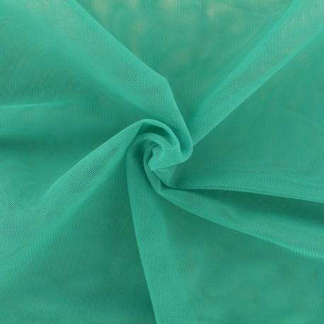 Tissu tulle doux Princesse - turquoise x10cm