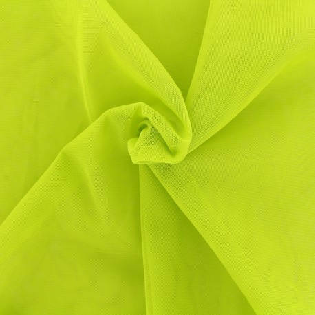 Luxury soft touch Tulle - lime x 10cm