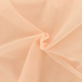 Luxury soft touch Tulle - pink salmon x 10cm