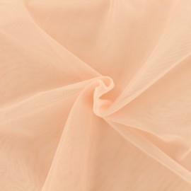 Tissu tulle doux Princesse - rose saumon x 10cm
