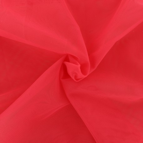 Luxury soft touch Tulle - strawberry pink x 10cm