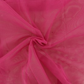 Luxury soft touch Tulle - indian pink x 10cm