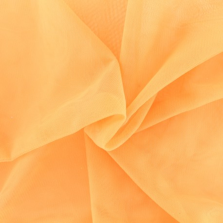 Luxury soft touch Tulle - peach x 10cm