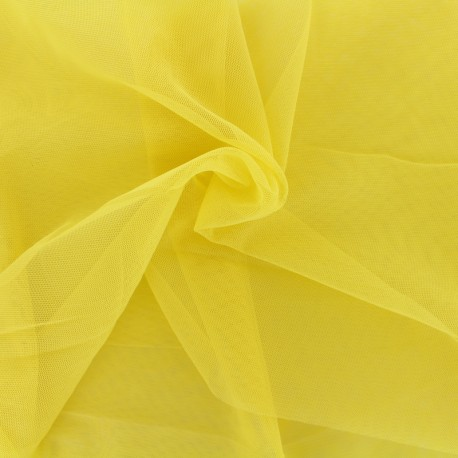 Luxury soft touch Tulle - yellow spring x 10cm