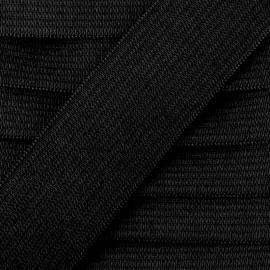 Elastique plat Color noir