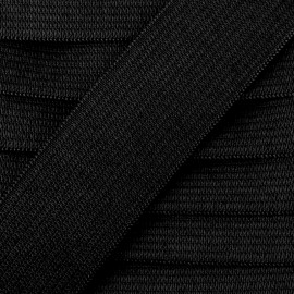 Flat elastic Color - black x 1m