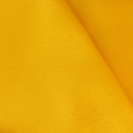 Felt Fabric - yellow x 10cm