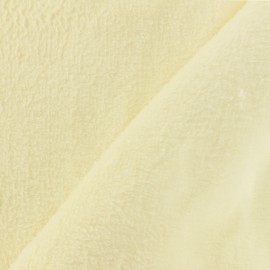Piloudou blanket fabric - vanille x 10cm