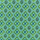 Tissu Lycra épais Maillot de bain - Disco square - bleu x 10cm