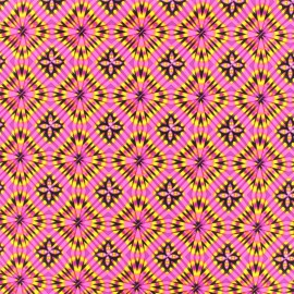 Tissu Lycra Maillot de bain Disco square - rose x 10cm