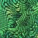Thick Swimsuit Lycra fabric - Disco square - green x 10cm